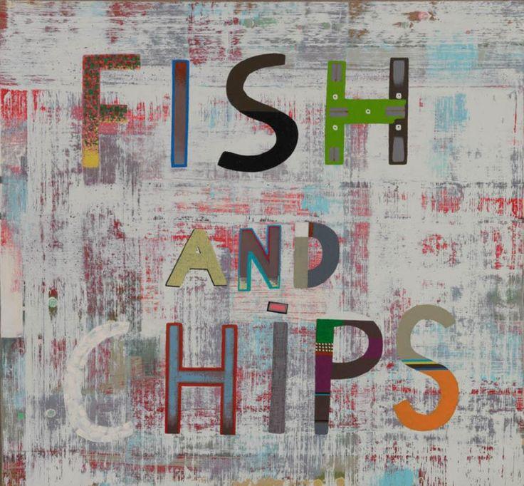 Jonathan (Jon) Campbell (1962-.) Australia:  Fish and Chips 2010