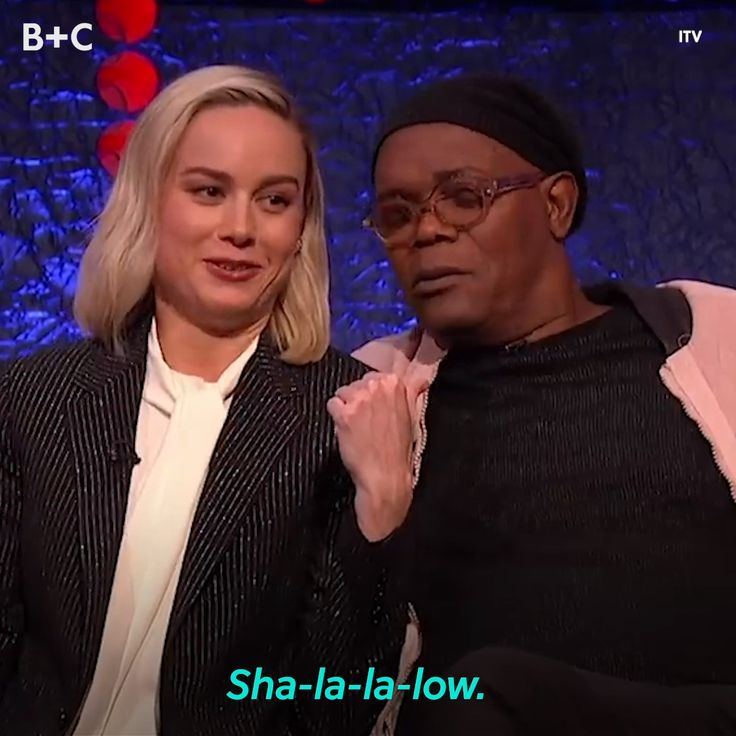 Brie Larson and Samuel L. Jackson Are Unlikely (But Adorable) Besties – Brit Morin