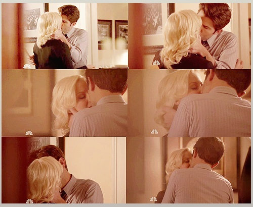 I love these two. Amy Poehler as Leslie Knope and Adam Scott as Ben Wyatt. <3