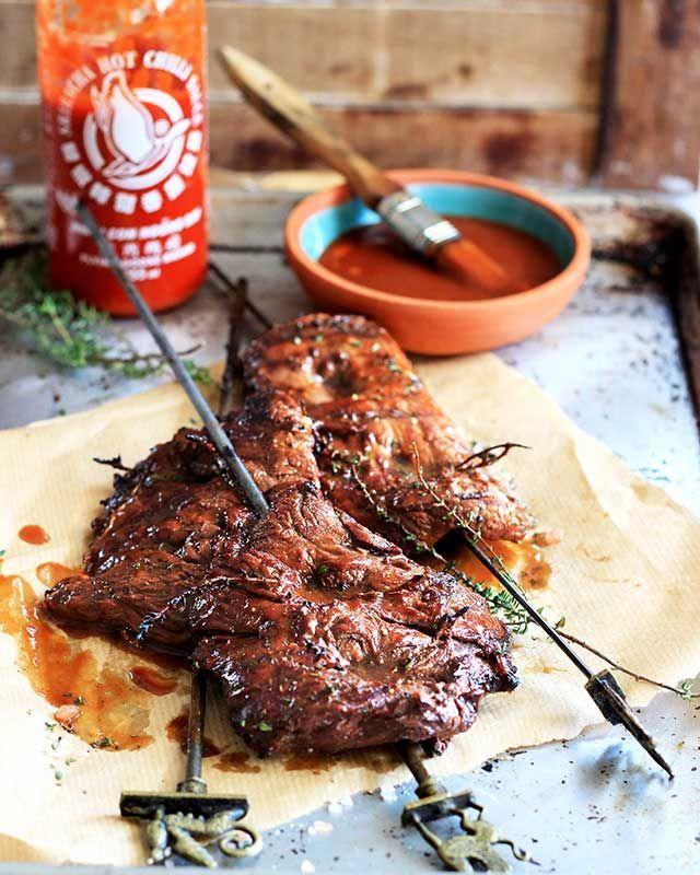 Flank-steak-braai
