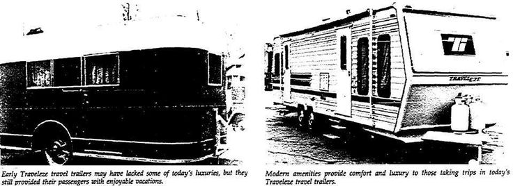 San Fernando Valley, Los Angeles Times newspaper article from 1981 Regarding the 50th Anniversary of Traveleze Industries / Traveleze Trailer Company