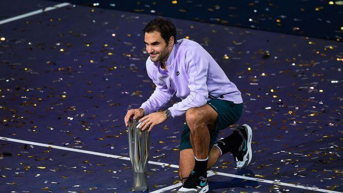 Roger Federer - ATP Masters 1000 Shanghai - OCtobre 2017 - vainqueur