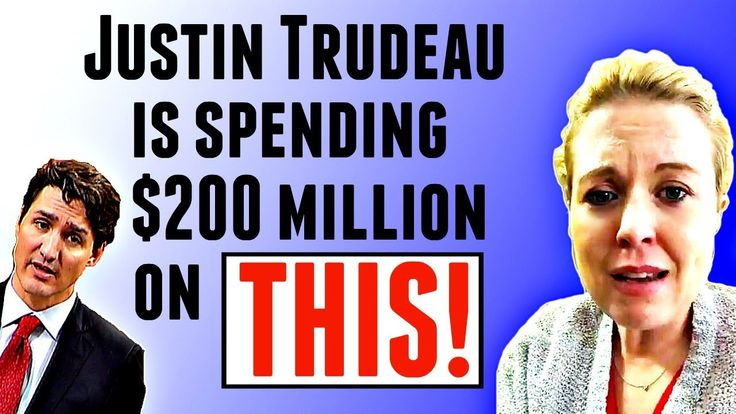 Justin Trudeau is spending $200 million of YOUR hard earned $$$ on this...