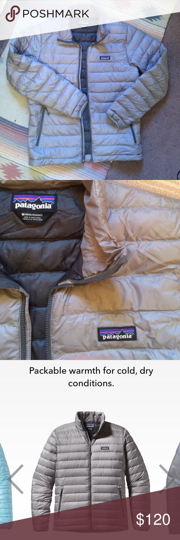 Patagonia Down Sweater Jacket/puffy-stone-M Medium Another great Patagonia product Patagonia Jackets & Coats Puffers