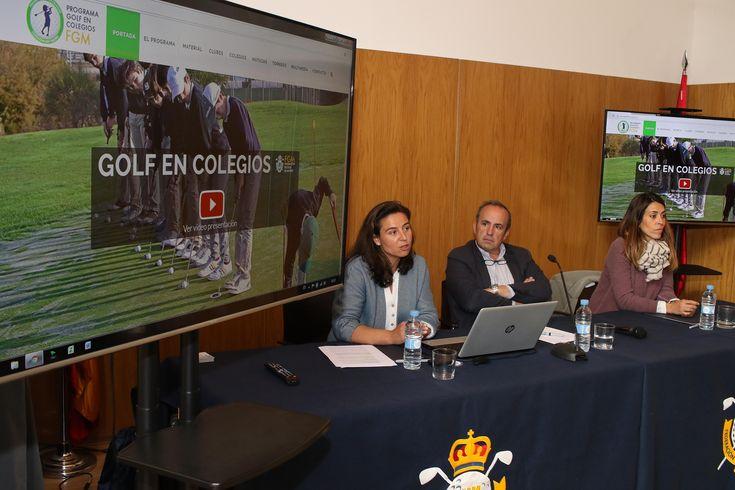 """7.200 alumnos, 47 centros escolares y 15 instalaciones de golf forman parte del programa """"Golf en Colegios"""" de la Federación de Madrid - http://www.theleader.info/2016/11/25/7-200-alumnos-47-centros-escolares-y-15-instalaciones-de-golf-forman-parte-del-programa-golf-en-colegios-de-la-federacion-de-madrid/?lang=es"""