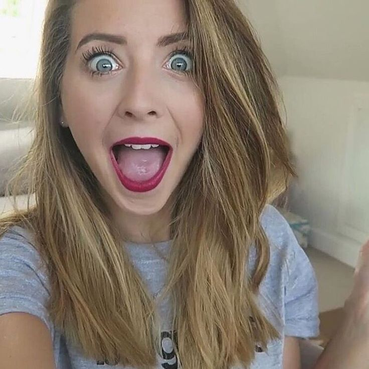 Hey I'm Zoella and I'm a YouTube people say I'm a little crazy but IDK *giggles* and BTW I'm single...