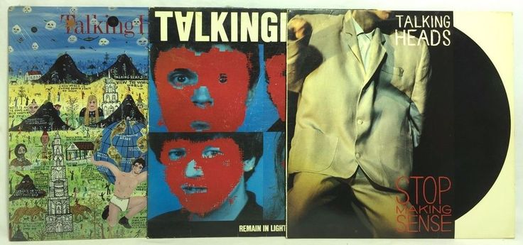 Talking Heads Little Creatures Remain in Light + LP #Vinyl Record Lot of 3