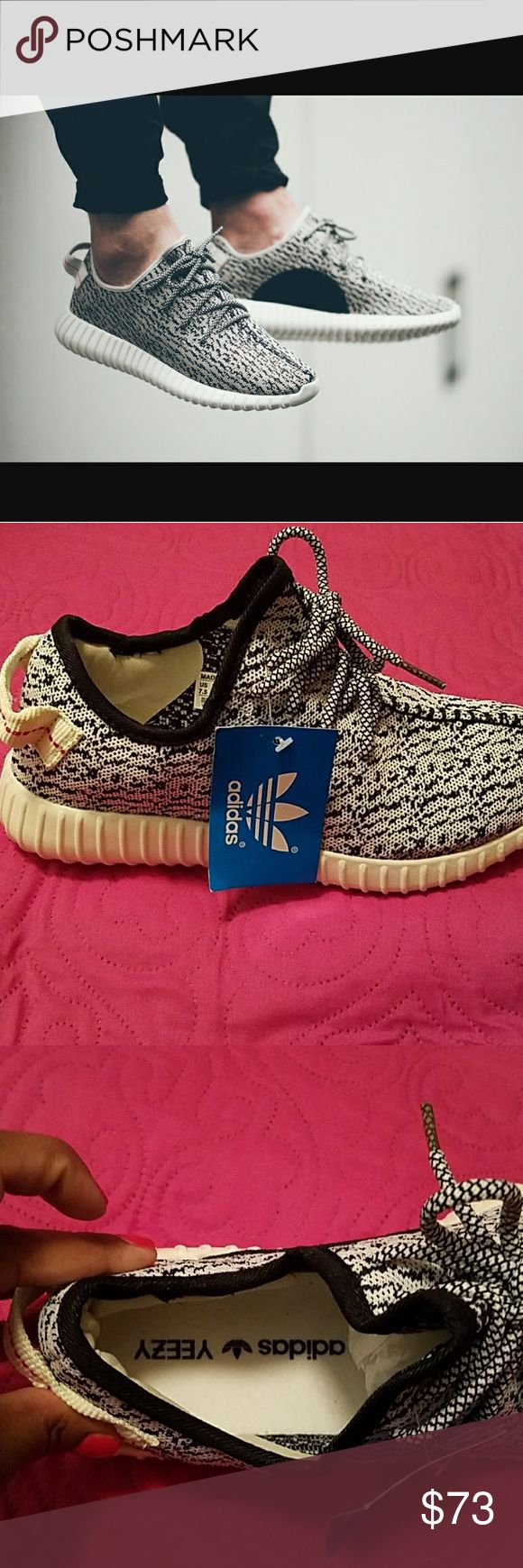 YEEZY BOOST 350 Brand new with tags! Comfy and on trend! Price is firm and no trades! Buy both pair and recieve 20% off. adidas Shoes Athletic Shoes