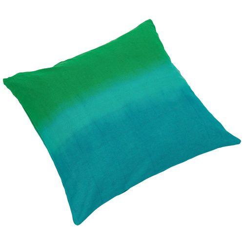 Cechy i korzyści: Poduszka z różnymi odcieniami kolorów. Ładny dodatek kolorystyczny do kanapy czy łóżka. Miękka i miła w dotyku. Poszewka na zamku z wypełnieniem. Dostępna także w dwóch innych ...