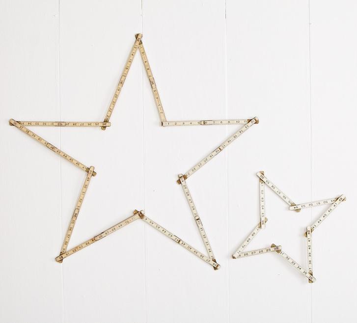 Stars from old rulers...I think I like it: Diy Ideas, Holiday Ideas, Diy'S, Christmas Ideas, Diy Vintage, Craft Ideas, Christmas Stars
