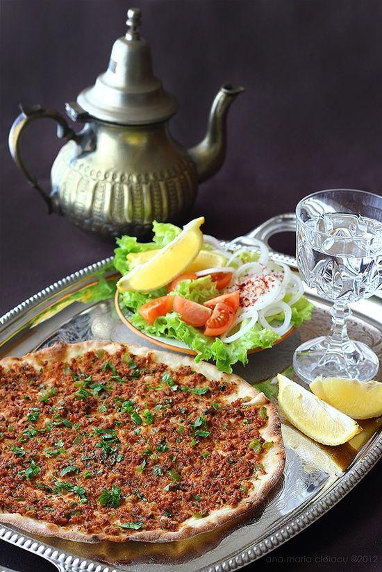 Turkish Cuisine • fotoblogturkey: Lahmacun,Turkish cuisine