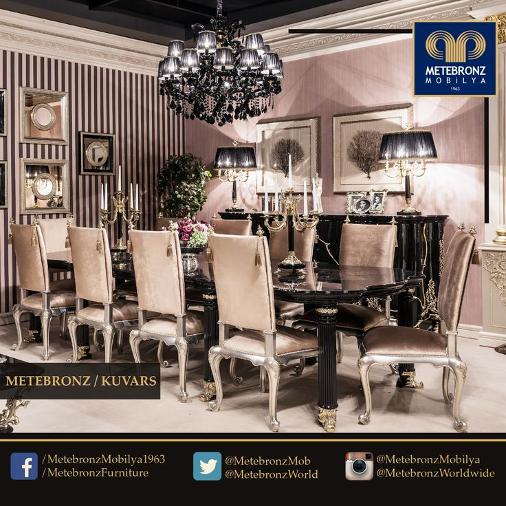 Furniture you choose for your home reflects your style and your style tells who you are without having to speak... www.metebronz.com #Metebronz