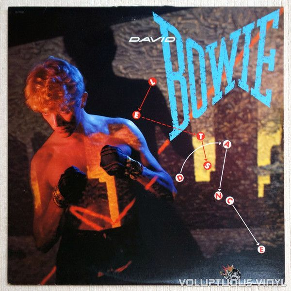 David Bowie - Let's Dance (Bowie's best selling album, with three of his chart topping songs)