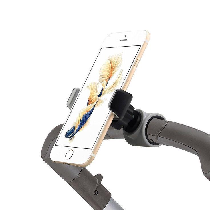 Emmzoe Smartphone Handlebar Mount for Stroller Buggy Pram Shopping Carts... #Emmzoe