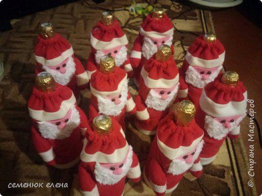 Декор предметов Мастер-класс Новый год Шитьё Новый старый Дед Мороз Ткань фото 1
