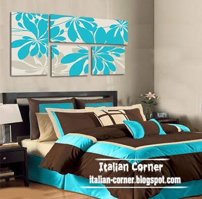 bedroom natural abstract oil panting on canvas wall art paintings