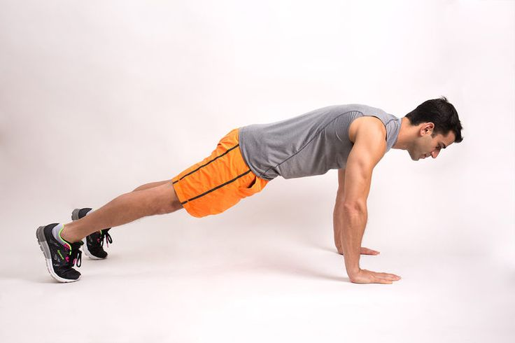 3. High Plank #isometrics #fitness #homeworkout http://greatist.com/move/isometric-exercises