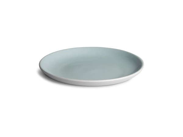 Humble & Mash Stoneware Side Plates, Set of 4 - Subtle, durable and generously sized, these side plates are great for everyday use and relaxed gatherings. The Humble & Mash Stoneware Collection brings easy going coupe shapes and a cool natural palette to your dinner table.