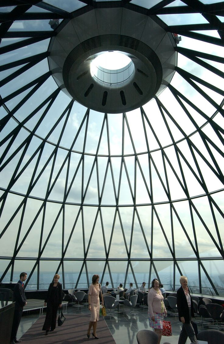 Swiss Re Headquarters, 30 St Mary Axe - Interiors | Projects | Foster + Partners