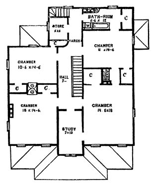59 best Victorian House Floor Plans images on Pinterest | Vintage ...