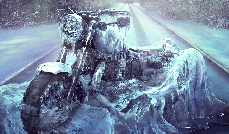 Motor Cycle Show Ice Bike By Luminous Creative Imaging (www.luminous-ci.com)