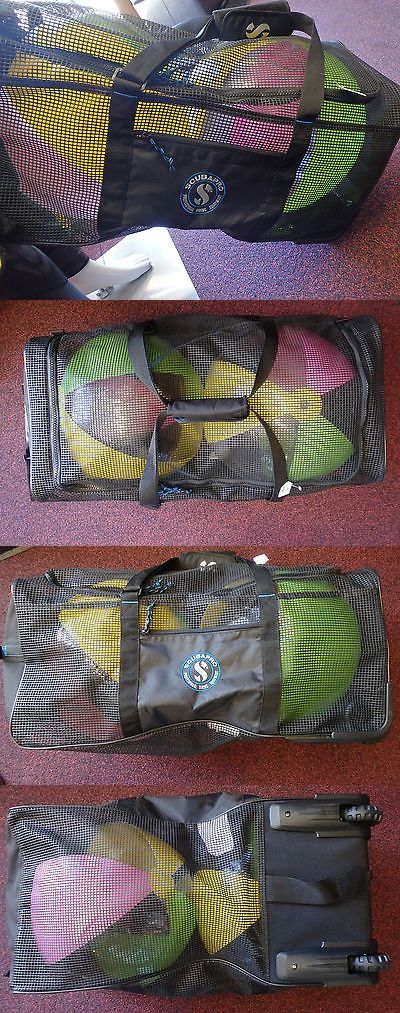 Gear Bags 29576: Scubapro Mesh And Roll Dive Bag BUY IT NOW ONLY: $132.0 http://www.deepbluediving.org/cressi-leonardo-dive-computer-review/