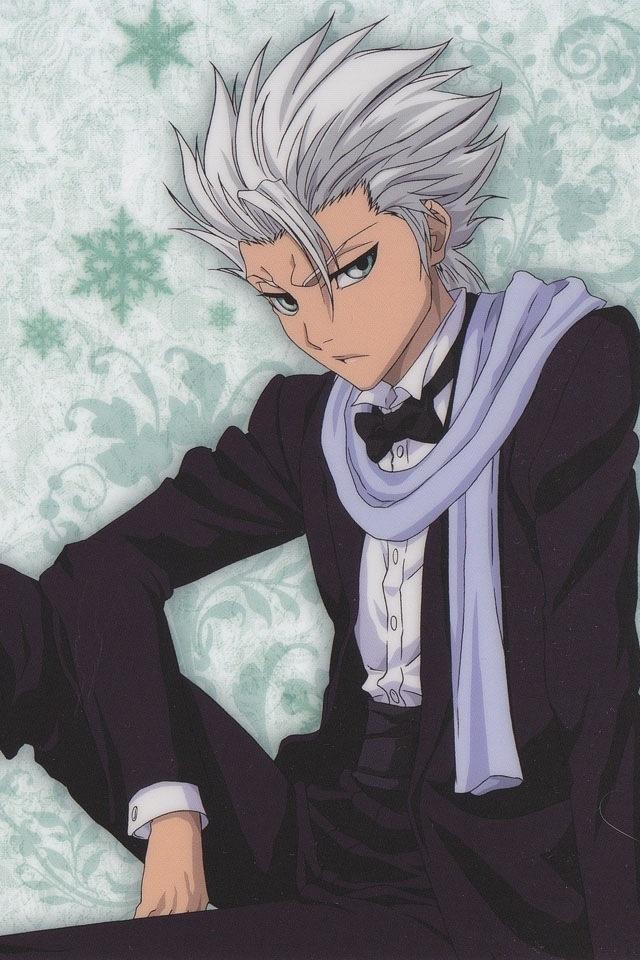 Hitsugaya n his scarf Souls of BLEACH Pinterest