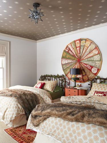 the ultimate christmas staycation - Metallic Kids Room Interior
