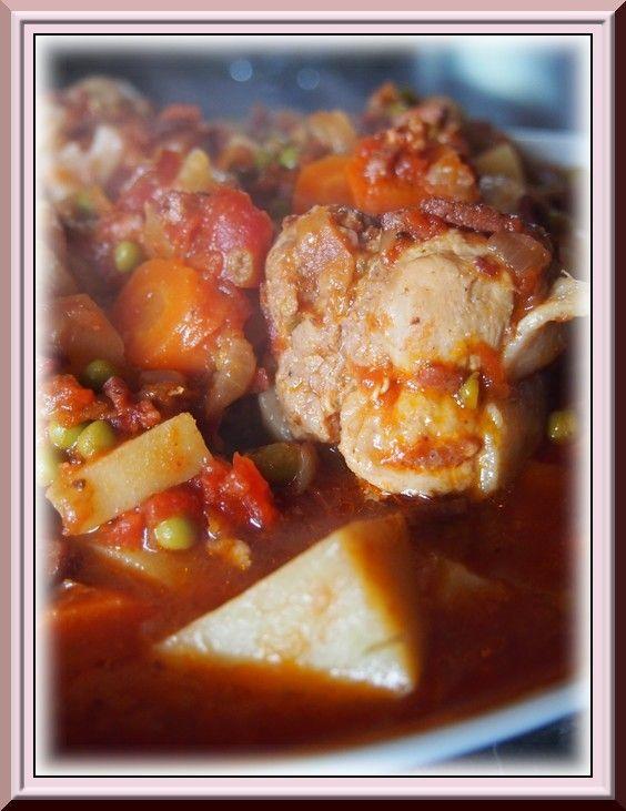 Paupiette de dinde aux petits légumes Ww (Cookeo)