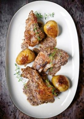 Konijn met mosterd en tijm - Recepten - Culinair - KnackWeekend.be