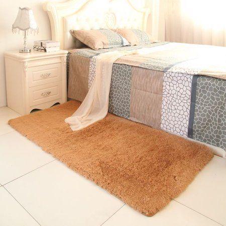 Fluffy Anti-skid Area Rug for Living Room, Multiple Colors,60*90 cm / 80*120 cm