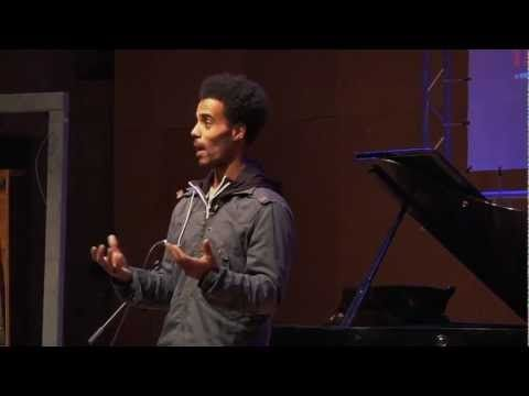 ▶ TED Talk Hip-Hop & Shakespeare? - YouTube (He raps Sonnet 18 to two different beats)