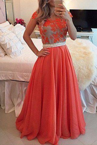 Elegant Scoop Neck Beaded Short Sleeve Backless Dress For Women