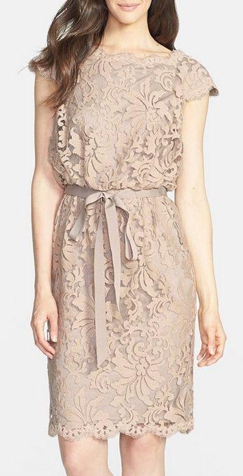 Gorgeous lace blouson dress - 50% off! http://rstyle.me/n/vf77vnyg6