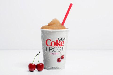 Diet Cherry Coke Slurpee!!