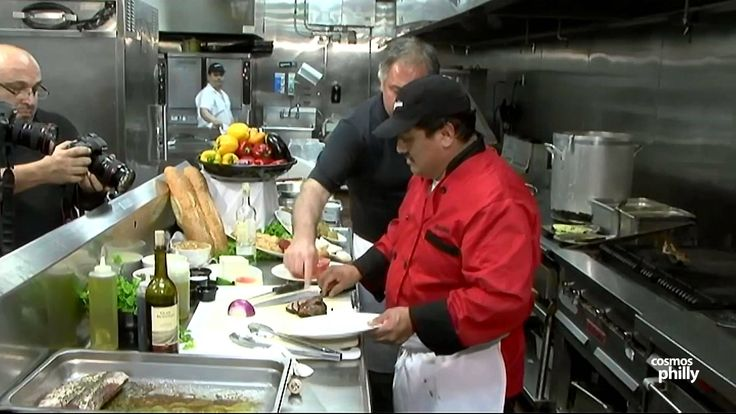 Adelphia Restaurant, cooking Greek with Chef Philip Hernandez
