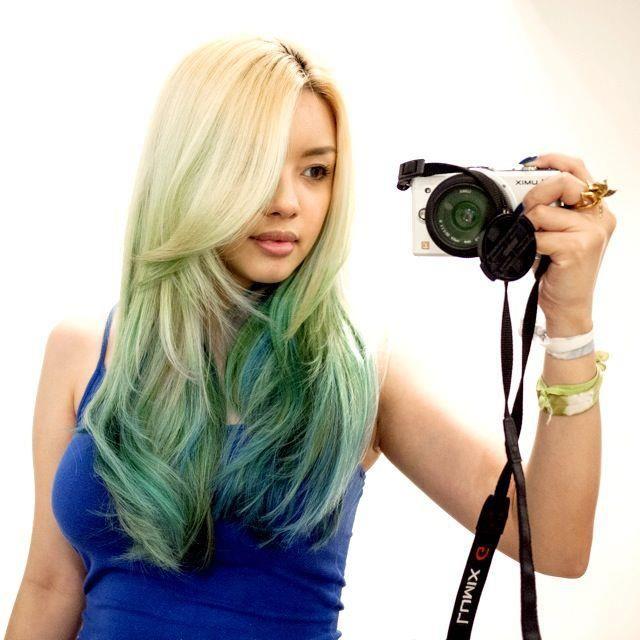 17 Best Images About My Hair On Pinterest Blue Ombre