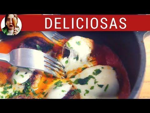(4) ALBONDIGAS DE BERENJENAS (una locura de ricas) / Recetas vegetarianas - YouTube