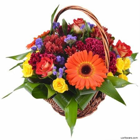 Bouquet «In basket»