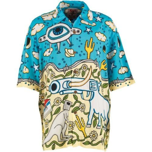 Mambo Loud Lairy Mens Shirt Sherriff Small Great for Holiday Beach   eBay