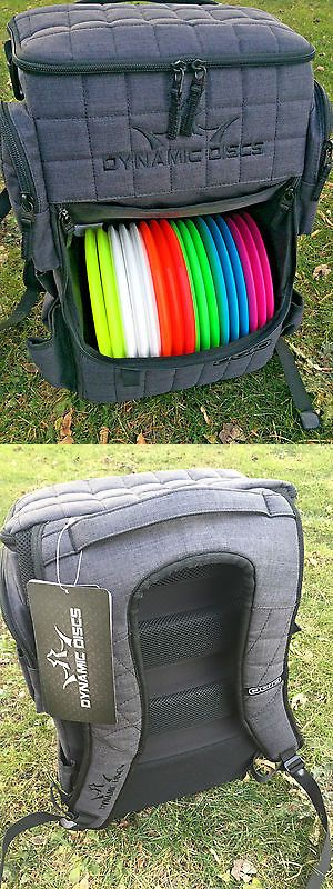 Disc Golf 20851: Wingz Disc Golf * New Dynamic Discs Ranger Backpack * Heathered Gray Bag BUY IT NOW ONLY: $174.99