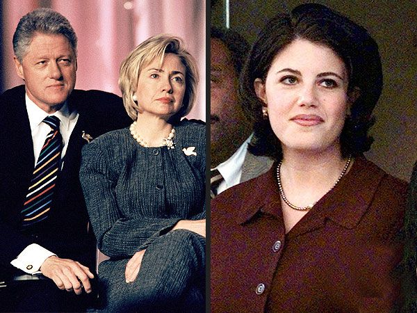 Bill Clinton and Monica Lewinsky cheating scandal