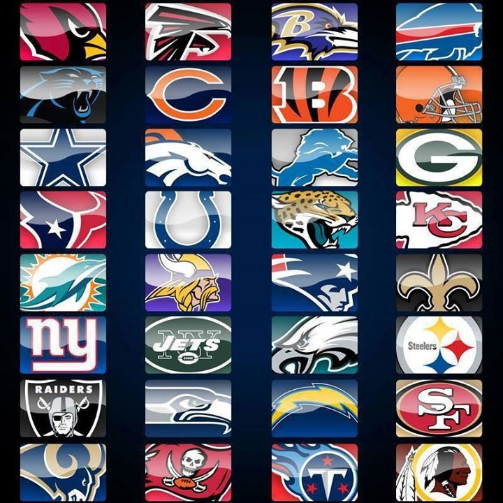 All Team Of The Seasons: 17 Best Images About NFL Teams On Pinterest