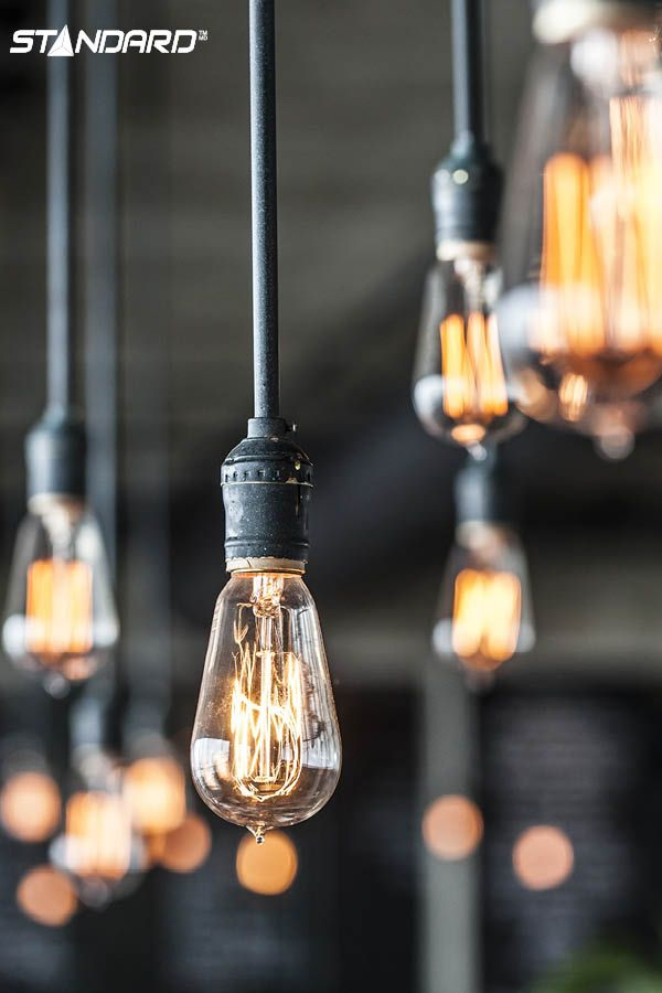 Just the light bulb you needed to complete your industrial style living room… #StandardProducts #Lightbulb #IndustrialStyle #InteriorDesign