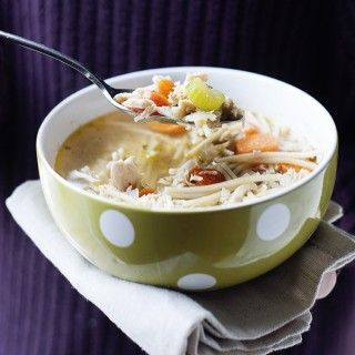 Slow Cooker Crock Pot Healthy Chicken Noodle Soup