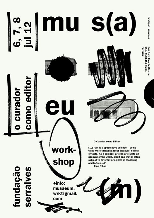 manystuff.org  Graphic Design daily selection  Blog Archive  mus(a)eu(m)  The Curator as Editor