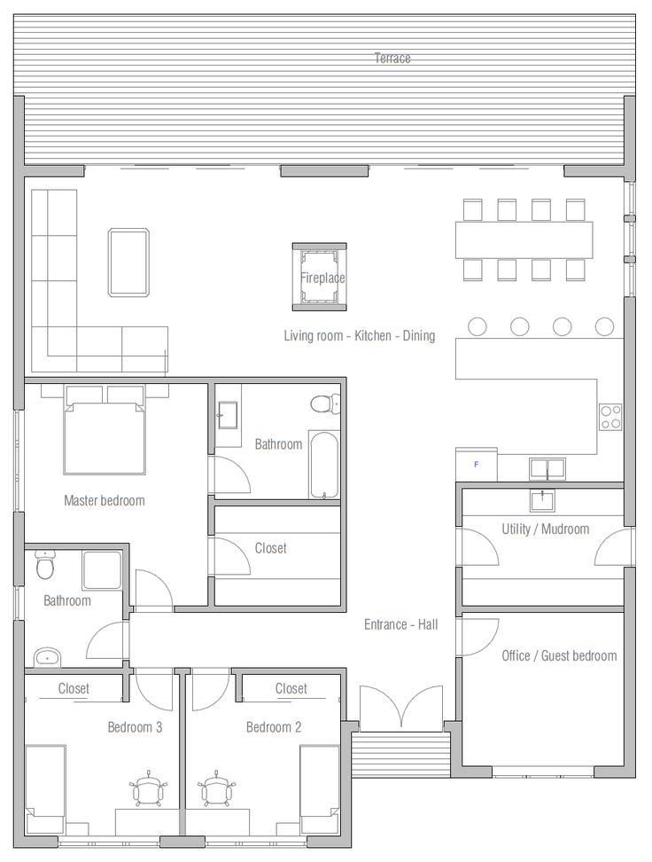 132 best Inspiration guenat et monnerat images on Pinterest Bay - plan maison 170 m2 plain pied