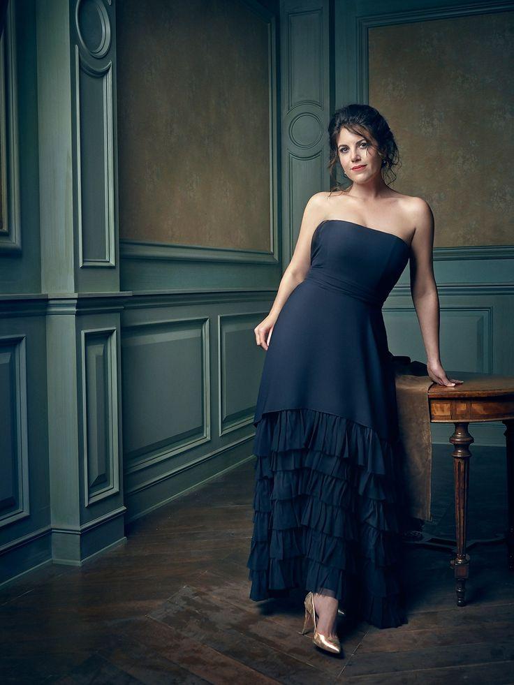 Lovely Dress! Monica Lewinsky Mark Seliger's Portraits From the 2016 Vanity Fair Oscar Party