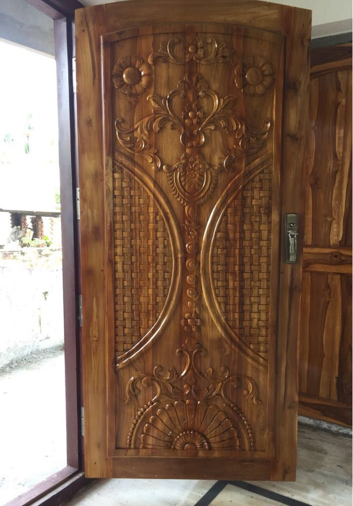 Pin By Rafael Luis Rosas Carmona On Ballanki Santhoshkumar Single Door Design Wooden Door Design Front Door Design Wood