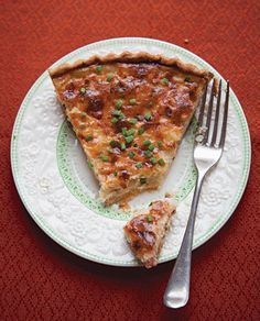 Swiss Onion Tart Recipe | SAVEUR